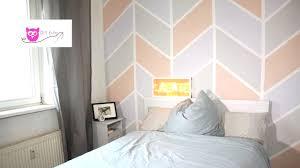 Schlafzimmer Streichen Braun Ideen Wand Malen Muster Braun Angenehm On Moderne Deko Ideen Auch