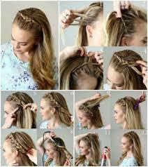 Hochsteckfrisurenen Mittellange Haare Halboffen by Best 25 Haare Halboffen Ideas On Frisuren Halboffen