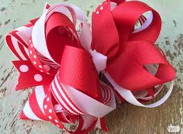 how to make girl bows how to make a big loopy stacked hair bow the ribbon retreat