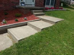 ideas for these steps in my front yard landscaping
