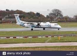flybe bombardier dash 8 q400 medium range twin engine passenger