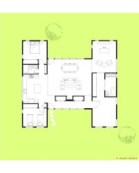 1 Floor Home Plans 1 Story Modern Home Plans
