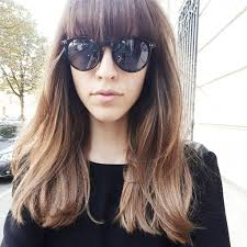 blunt bangs long hair 1000 images about blunt cut on pinterest