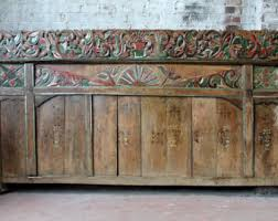 carved headboard etsy