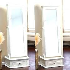standing mirror jewelry cabinet floor standing mirror free standing mirror jewelry armoire plans