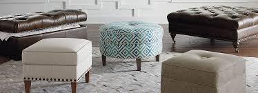 Who Are Ottomans Hgtv Custom Ottomans Benches Home Furnishings Bassett Furniture