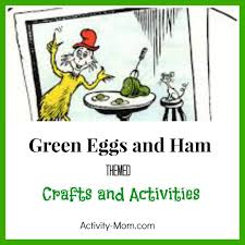 the activity mom green eggs and ham themed activities