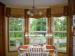 Large Window Curtains Kitchen Bay Window Curtain Ideas 28 Images Kitchen Curtains
