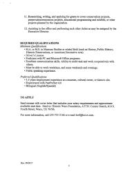 employment u2014 historic waco foundation