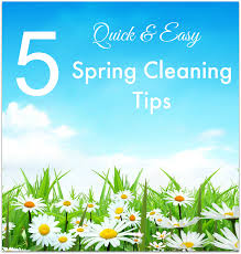 Springcleaning 5 Quick And Easy Spring Cleaning Tips Food Fun U0026 Faraway Places