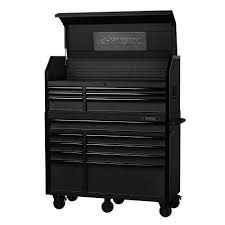 home depot tool cabinet husky 52 in 15 drawer industrial tool chest and cabinet combo