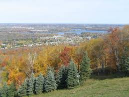 scenic view from rib mountain in wausau wisconsin