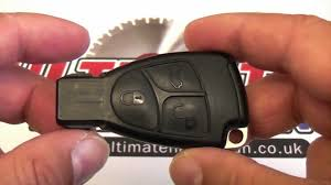 mercedes c class change mercedes key battery change