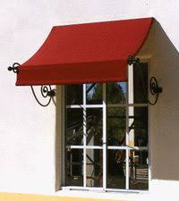 Window Canopies And Awnings Awntech 16 Ft Santa Fe Twisted Arm Window Awning 31 In H X