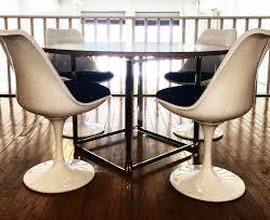 modern classics furniture closer looks saarinen u0027s tulip chair