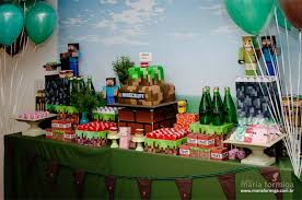 minecraft birthday party steve and creeper minecraft birthday party creeper minecraft