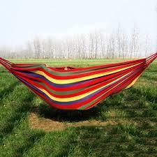 potable canvas parachute outdoor garden swing net bed portable