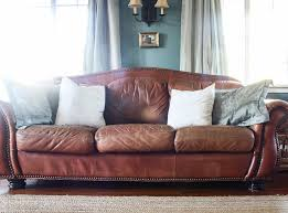 Can You Dye Leather Sofas How To Paint Leather Furniture She Holds Dearly