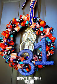 How To Make Halloween Wreaths by Ribbon My Blog