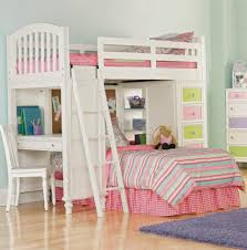 Kids Beds With Desk bunk beds white bunk beds kids beds with desk 3 bed bunk bed set