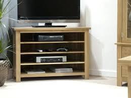 light wood corner tv stand light wood tv stand light oak finish stand with 2 shelf and drawer