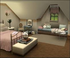tutorial by missroxor on how to make vaulted ceilings in the sims