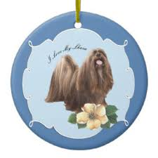 15 lhasa apso ceramic ornaments zazzle ca