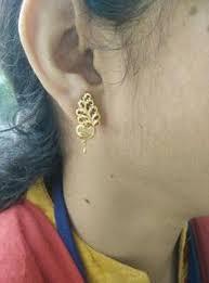 design of gold earrings ear tops fabulous ear tops from the gold factory beautiful gold earrings