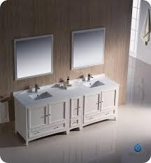 84 Bathroom Vanity Double Sink Fresca Fvn20 361236aw Oxford 84