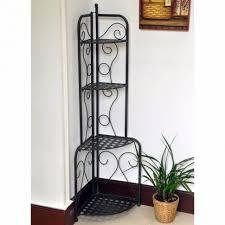 Corner Bakers Rack Plant Stand Original Decorative Three Tier Cornerlant Stand