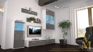 Schrankwand Wohnzimmer Modern Funvit Com Wohnküche Ideen Lila