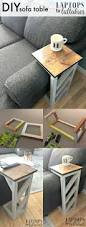 Diy Coffee Tables by Laptops To Lullabies Easy Diy Sofa Tables Crafty Stuff