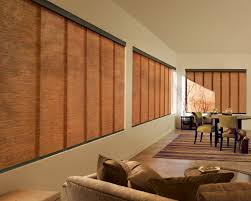 furniture design sliding panel window treatments