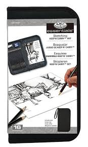 royal u0026 langnickel pencil sketch kit drawing kit graphite pencil