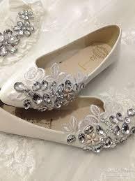 wedding shoes flats ivory ivory flat bridal shoes internationaldot net