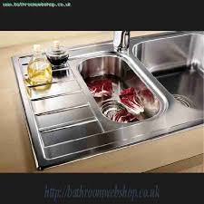 Stainless Steel Kitchen Sinks BLANCO Livit  S Compact Stainless - Compact kitchen sinks stainless steel