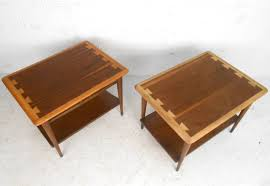 Lane Bedroom Furniture Vintage by Pair Of Mid Century Modern Acclaim Style End Tables By Lane