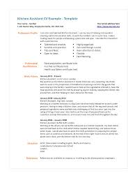 cook resume examples head chef resume template sample line cook