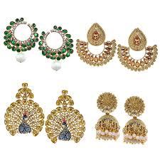 Chandelier Earrings India Earrings Buy Earrings At Best Prices In India In