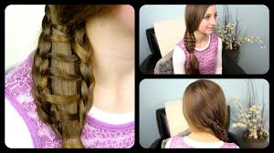 hairstyles for long hair at home videos youtube ladder braid side ponytail cute girls hairstyles youtube