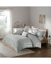 California King Comforter Sets On Sale Sweet Deal On Intelligent Design Raina 5 Piece King California