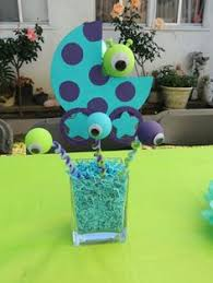 monsters inc baby shower decorations monsters inc baby shower centerpiece baby baby