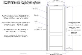 Prehung Interior Door Sizes Opening For Interior Door Prehung Pictures On Luxurius Home