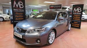 lexus ct200h hacks used lexus cars for sale in leeds west yorkshire motors co uk