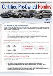 honda certified cars honda certified pre owned