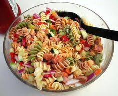 easy cold pasta salad zesty italian pasta salad love this salad i use the tri color