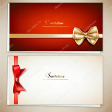 wedding invitations red and silver invite stock vectors royalty free invite illustrations