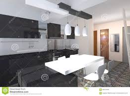 kitchen design stock illustration image 66910435