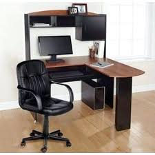 Bush Vantage Corner Computer Desk Cherry Corner Computer Desk Desks L Shaped Desk With Hutch Cherry