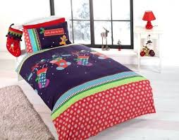 Christmas Duvet Cover Sets Christmas Duvet Covers Reindeer Family Red Christmas Quilt Cover